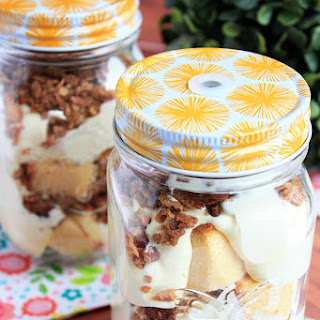 Toasted Pecan Pudding Trifles.