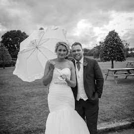 by Joe Butler - Wedding Bride & Groom