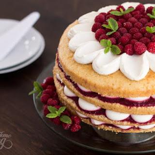 Vanilla Raspberry Cake Recipes