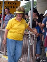 Photo: Virginia Freitag, station master.     HALS 2009-0919