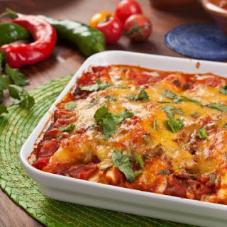 Chicken Enchiladas with Pasilla Chili Sauce Recipe