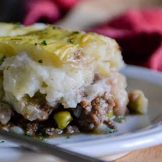 Rustic Irish Shepherd's Pie.