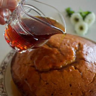 Caramel Syrup Cake
