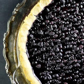 Gluten-Free Vegan Blueberry Pie {Refined Sugar-Free}