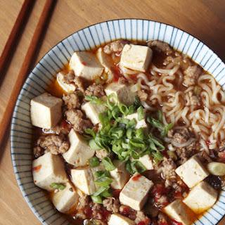 Mapo Tofu Ramen (Mabo Ramen)