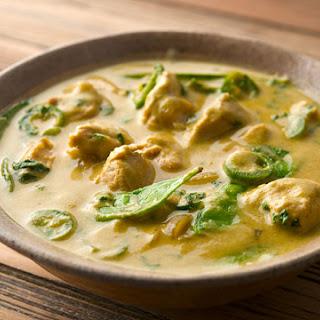 Green Curry Pheasant