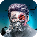 Ghost photo effect icon