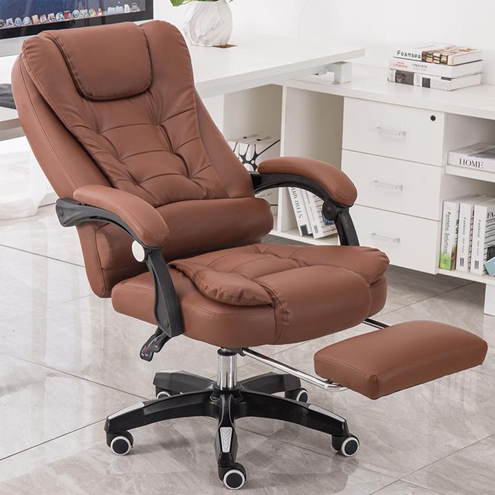 Ghế xoay văn phòng massge lưng, ghế massage lưng 5 điểm có ngả lưng, gác  chân êm ái   Lazada.vn