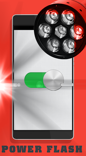 Power Flashlight LED Lilipop +