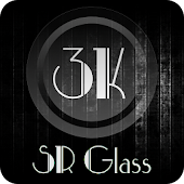 3K SR GLASS - Icon Pack