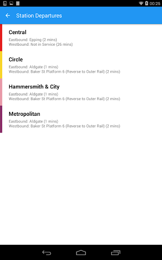 London Tube Live Pro screenshot 14
