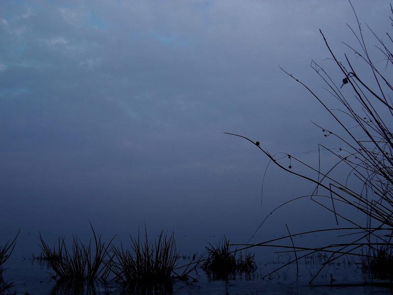 Crepuscolo in riva al lago di dan