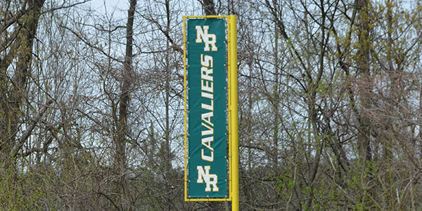 Custom Foul Pole Banner