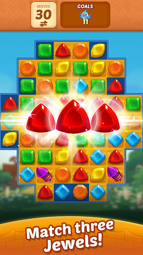 Matching Magic: Oz - Match 3 Jewel Puzzle Games screenshot 1