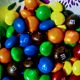 Kolors by Carlo McCoy - Food & Drink Candy & Dessert ( red, orange, green, blue, candy, m&m, yellow, sweets, colors, chocolate,  )