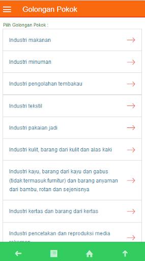 Ringkasan KBLI 2015 screenshot