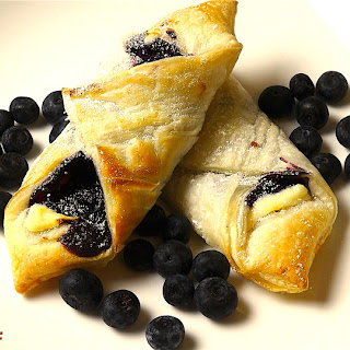 Easy Blueberry Pastries |