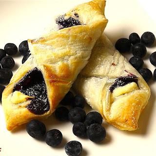 Easy Blueberry Pastries |