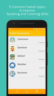 French Pronunciation Practice- screenshot thumbnail