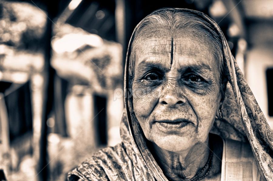 The Sanyansin by Arup Acharjee - People Portraits of Women