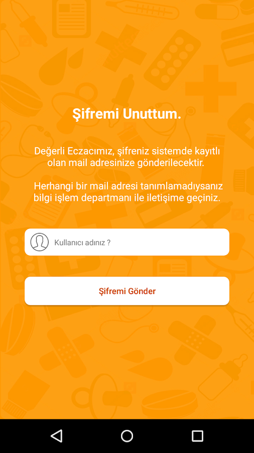 Dilek Ecza Portal- screenshot