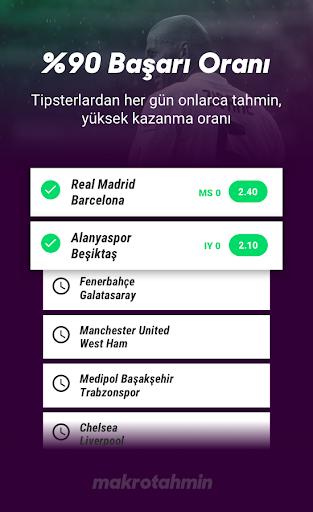 Makrotahmin - İddaa Analiz Banko Tahminler screenshot
