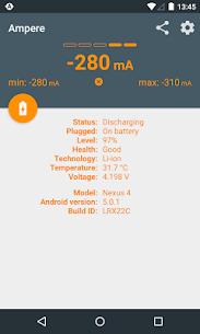 Ampere Pro v3.40 MOD APK 4