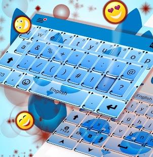 Kitty Téma klávesnice - náhled