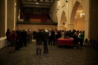 Photo: La réception dans l'abbatiale