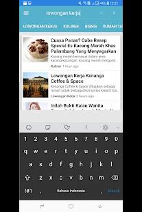 Palembang Blog Native for PC-Windows 7,8,10 and Mac apk screenshot 4