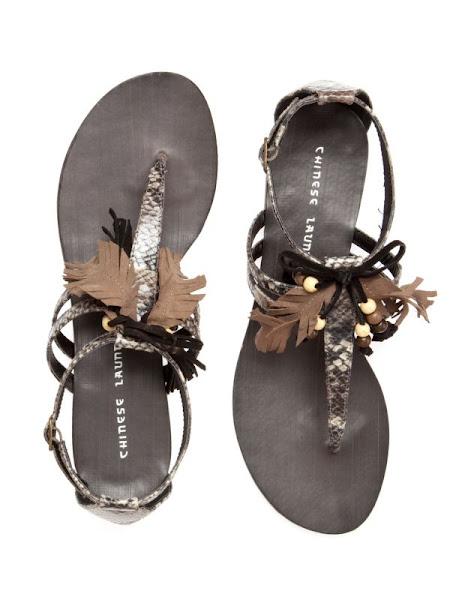 Photo: Chinese Laundry Ginger Snap Fringed Sandals £54.99 http://bit.ly/IJzxKK