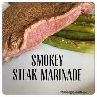 Smokey Steak Marinade.