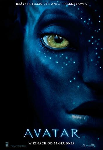 Polski plakat filmu 'Avatar'