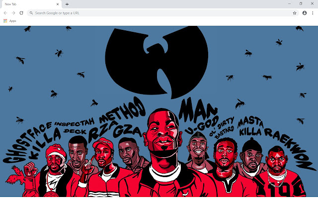 Wu Tang Clan New Tab Wallpapers Collection