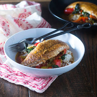 Thai Red Curry Red Snapper.