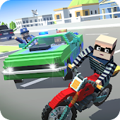 Blocky Police Driver: Criminal Transport