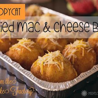 Deep-Fried Macaroni and Cheese Balls #Recipe.