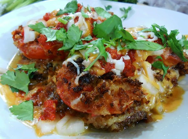 One of my favorite ways to have portabello's and tomatoes is with onion, cilantro,...