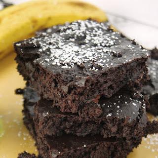 Fudgy Chocolate Banana Brownies (Dairy-Free, Gluten-Free, Vegan!)
