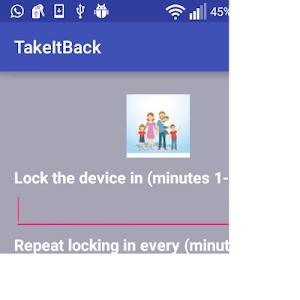 TakeItBack-Lock the screen v1.0