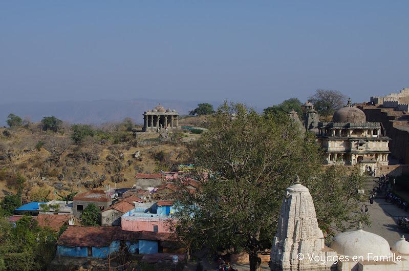 Kumbhalgarh village et temples