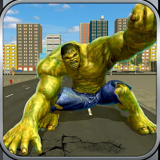 Incredible Monster Superhero Transform City Wars