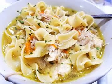 ~ Instant Pot Chicken Noodle Soup ~