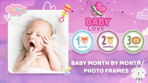 Baby Photo Editor:Precious Baby Milestone Pictures screenshot 2