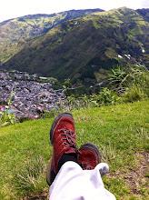 Photo: Bellavista viewpoint overlooking Baños de Agua Santa, Ecuador.  June 2012.
