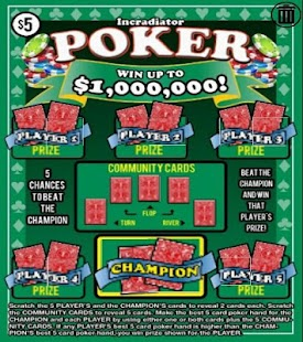 Lottery Scratch Off Simulator - náhled