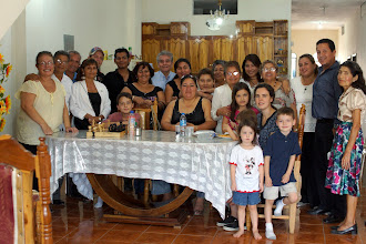 Photo: The Mass was offered for my late grandmother on her birthday. Afterwards all got together for a Sunday family get together.