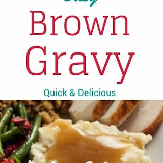 Easy Brown Gravy