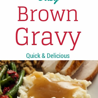 Easy Brown Gravy.