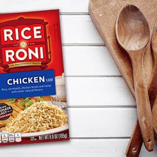 Chile Chicken Rice Casserole.